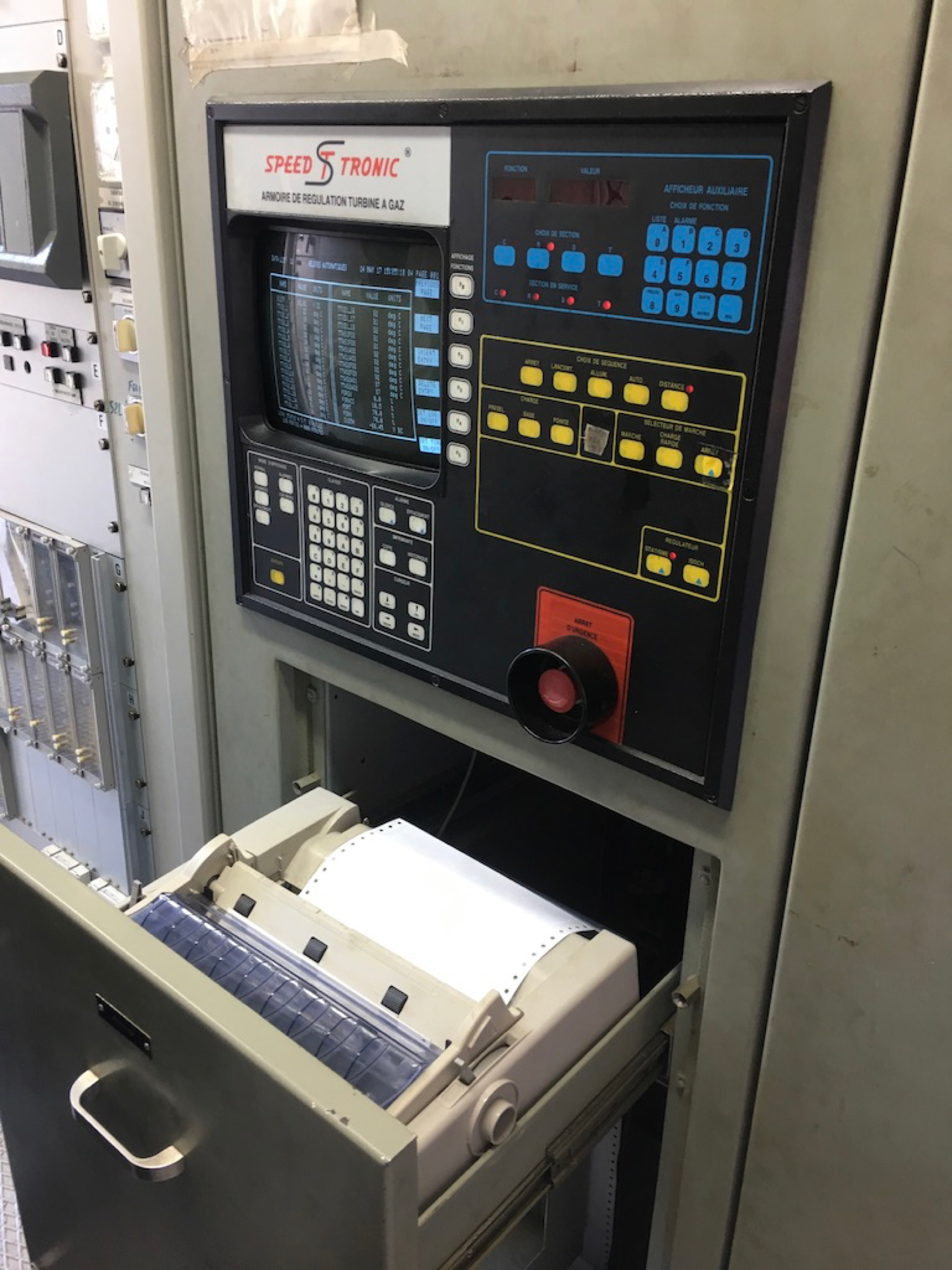 Non-connected production machine